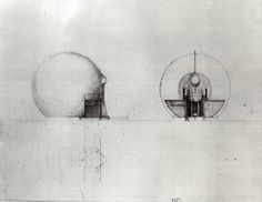 walter pichler drawing