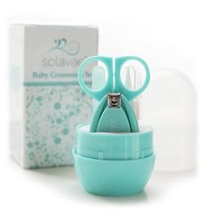 SolavaeTM Newborn, Baby, Infant and Toddler Grooming Kit - The Best Unique Baby Shower Gift for Girls and Boys (Teal) Solavae http://www.amazon.com/dp/B010R3DN6C/ref=cm_sw_r_pi_dp_u3LUwb0Q8AHQA