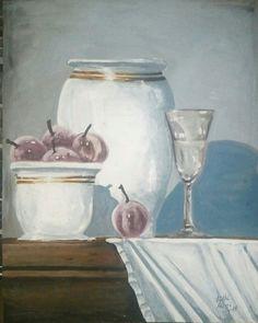 Jar, Artist, Painting, Home Decor, Decoration Home, Room Decor, Artists, Painting Art, Paintings