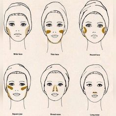 Apply bronzer according to your face shape and be sun kissed! Younique bronzer available at my link.