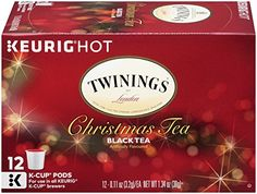 Twinings Christmas Tea Keurig KCups 12 Count *** More info could be found at the image url. (This is an affiliate link and I receive a commission for the sales)