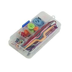 This knitting tool is designed with lots new kit perfect choice for your family life. 100% brand new and high quality  Basic tools for knitting are included in a compact case.  Knit Mate has all y...