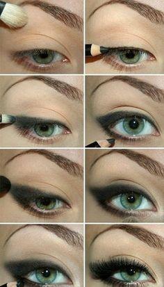 cat eye tutorial oEMgee #cateye #smokey #makeup