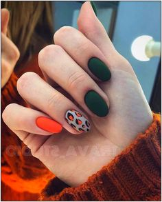 Make an original manicure for Valentine's Day - My Nails Mani Pedi, Manicure And Pedicure, Gel Nails, Nail Polish, Nail Nail, Fancy Nails, Pretty Nails, Fall Nail Colors, Fall Nail Designs