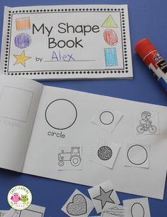 Make Your Own Shape Book Activity