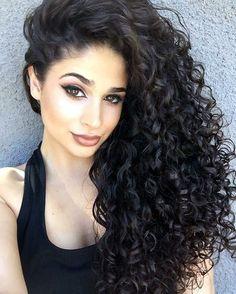 45 Lovey-Dovey Curly Hair Styles For Long Hair