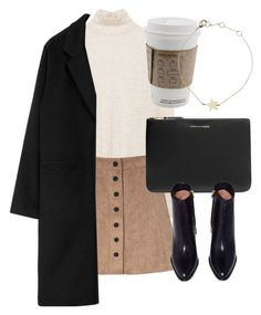 """Untitled #6249"" by laurenmboot ❤ liked on Polyvore featuring Glamorous, Comme des Garçons and Estella Bartlett"