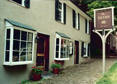 Abingdon Virginia Historic District - The Tavern. The most haunted building in town.