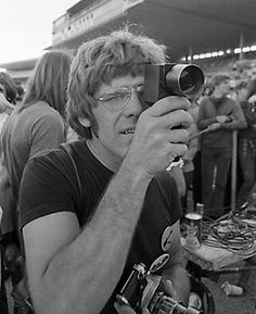 Photographer Henry Diltz, who captured some of the images that came to define the '60s counter-culture. He was the official photographer at Woodstock, and the Monterey and Miami Music Festivals, and has photographed over 80 record album covers.