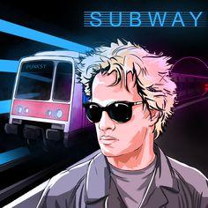 #synthpop #synthwave #retrowave #eighties #80s #subway #ChristopherLambert #lucBesson #1986