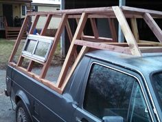Building a Wooden Camper Shell « Trouts Latest Photos
