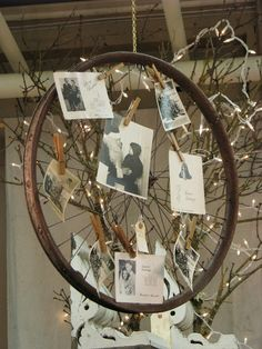 Maison Douce: Christmas at Monticello :: an idea for bike rim & limbs!