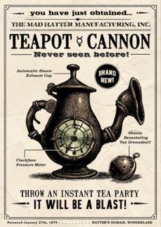 alice teapot - Google Search
