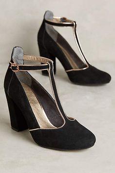 Lien.do Clave T-Strap Heels #AnthroFave