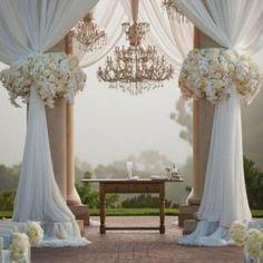 Chandeliers in my wedding!