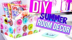 DIY Summer Room Decor with HelloMaphie