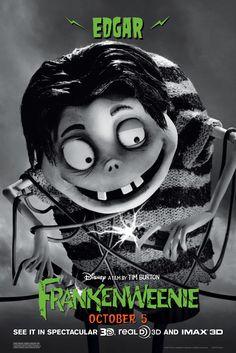 """Edgar """"E"""" Gore #Frankenweenie #WaltDisneyStudios #CinemarkUSA"""