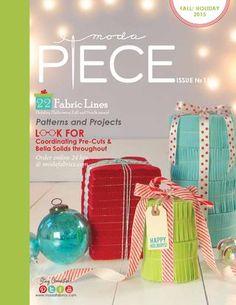 Moda Piece No. 11- Christmas and Fall 2015 catalog