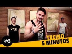 Barriga chapada em 4 minutos - Q48   Vinícius Possebon - YouTube Mundo Fitness, Health Motivation, Nutrition Tips, Zumba, Physical Fitness, Personal Trainer, Pilates, Health Fitness, Lose Weight