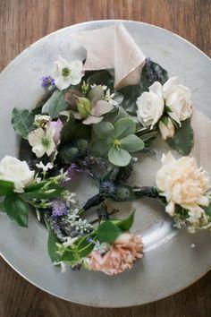 Austin Wedding from The Nouveau Romantics + Caroline Joy Photography Floral Wedding, Wedding Bouquets, Wedding Flowers, Buttonhole Flowers, Buttonholes, Floral Style, Floral Design, Enchanted Garden Wedding, Flower Corsage