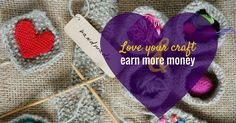 Hand crafted items that contain so much skill and beauty can be often sell for just a few pounds. Find out how to make more money for crafters. Make And Sell, How To Make, Earn More Money, Craft Items, Gem, Winter Hats, About Me Blog, Crochet Hats, Crafting
