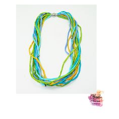 It has small metallic things and a magnetic closure, you can also wash it in cold water and mild soap Silk Thread Necklace, Textiles, Mild Soap, Metallic, Hand Painted, Cold, Closure, Water, Beautiful