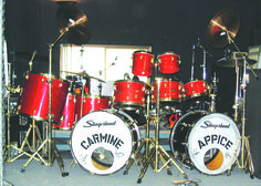 Carmine Appice -Ozzy Bark At The Moon Kit