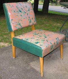 50s chair via 1950satomicranchhouse.blogspot.com