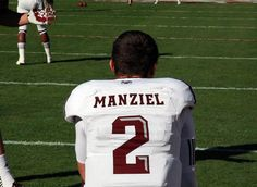 Johnny Football. This college freshman made history tonight (12-8-12)