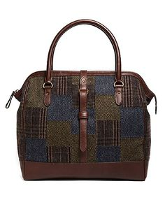 Wool Patchwork Bowler | Brooks Brothers