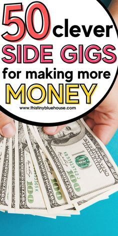 Start making extra money every month with these simple and clever side hustle ideas that can help you earn a ton of extra money every single month. Work From Home Opportunities, Work From Home Jobs, Make Money From Home, Way To Make Money, How To Make, Easy Work, Show Me The Money, Be Your Own Boss, Online Work