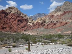 The Red Rock Canyon is picturesque, and not very far from the Las Vegas Strip