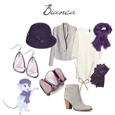 """Disney Outfits: Bianca"" by jas67angel on Polyvore"