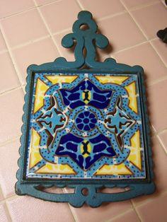 Art Nouveau Trivet