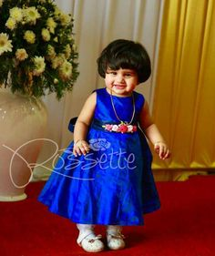 Choose thhis picture as what's up stAtus ute. Cute Baby Dresses, Kids Party Wear Dresses, Kids Dress Wear, Baby Boy Dress, Baby Girl Dress Patterns, Kids Gown, Dresses Kids Girl, Kids Outfits, Kids Wear