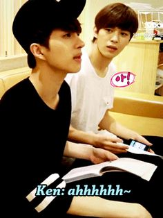 """hyde-leo-from-n: """" Hongbin already seemed confused at how Ken was acting """""""
