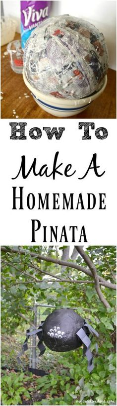 If you are planning a party of gathering of any kind and want to include a pinata, click over to see how easy it is to make a homemade pinata and save your money on the store-bought version.