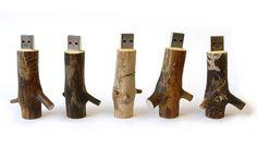 Wooden USB Sticks @ OOOMS