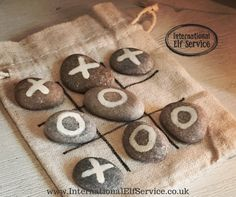 Easy Homemade Christmas Gift or Stocking Filler! Satisfies children's needs to play with rocks, and keep things in bags! Easy Homemade Christmas Gifts, Homemade Gifts, Make And Sell, How To Make, Stocking Fillers, Elf, Stockings, Reusable Tote Bags, Advent