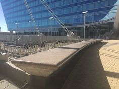 Next time you visit the Westin at Denver International Airport, make sure to check out these custom benches from E & C Precast!    www.EandCPrecast.com Front Range, Precast Concrete, International Airport, Benches, Over The Years, Denver, Louvre, Building, Projects