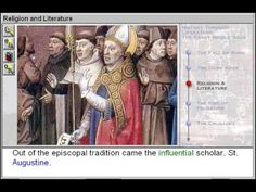 Religion and Literature (The Early Middle Ages Part 3)    http://www.zaneeducation.com -   Learn some of the important events that happened in world history before and during the early Middle Ages, between A.D. 300 and 1000, and learn about some of the authors who lived and wrote during the early Middle Ages. See how Christian and Buddhist monks as well as intellectual Muslims helped preserve the classical philosophy, literature, math, and science texts of Greece and Rome.