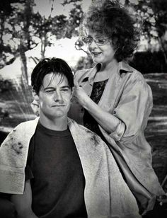 Kyle McLachlan and Piper Laurie