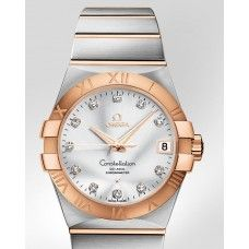 Omega CONSTELLATION CHRONOMETER 38 MM Steel-red gold on Steel-red gold ref: 123.20.38.21.52.001