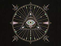 Evil Eye Mandala