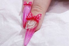 Part 2 - Pretty in Pink Acrylic Ballet Slipper Nail with 3D bow - Kirsty...