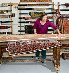 Cleaning Advice From a Rug Specialist - NYTimes.com  and great advice about what to look for in a rug