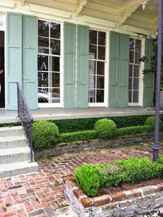 This came from Belclaire House, but this house is on Magazine Street in New Orleans