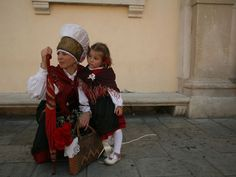 Traditional Slovenian costume