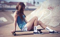 Chicas Lindas! en Skate....