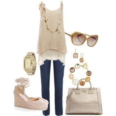 Creme, created by lulaf25 on Polyvore